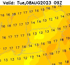 Temperatura +12_165 val.